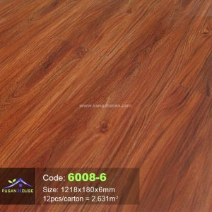 Sàn nhựa hèm khóa Pusan House 6008-6