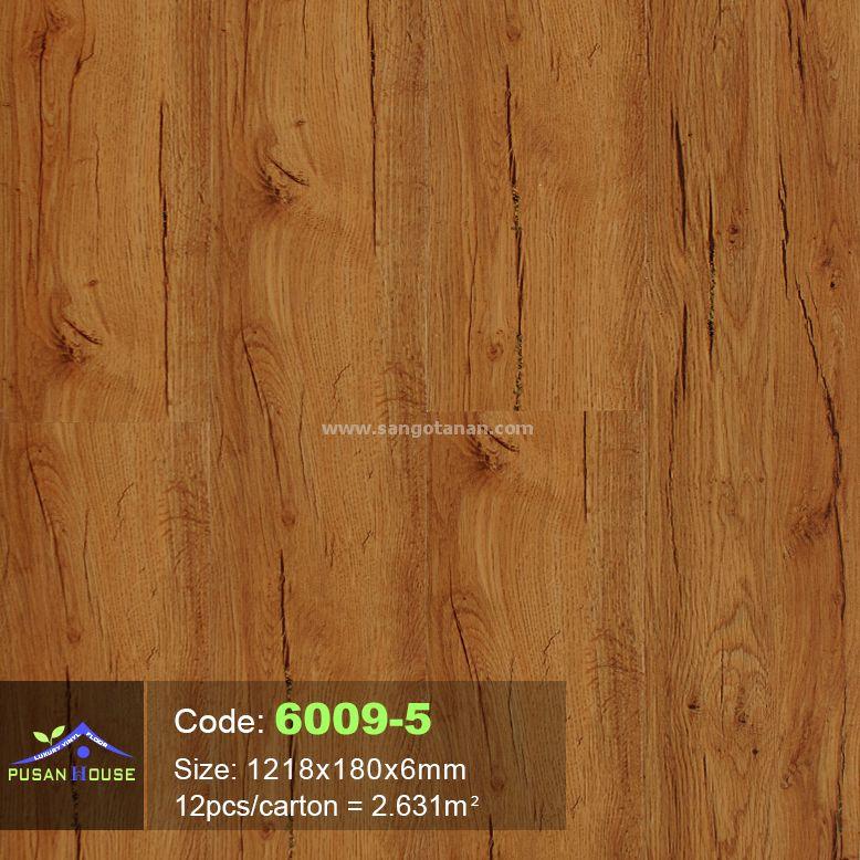 Sàn nhựa hèm khóa Pusan House 6009-5-1