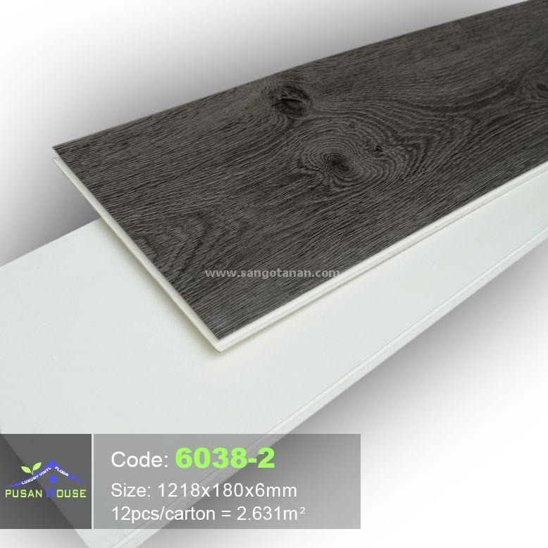 Sàn nhựa hèm khóa Pusan House 6038-2-2