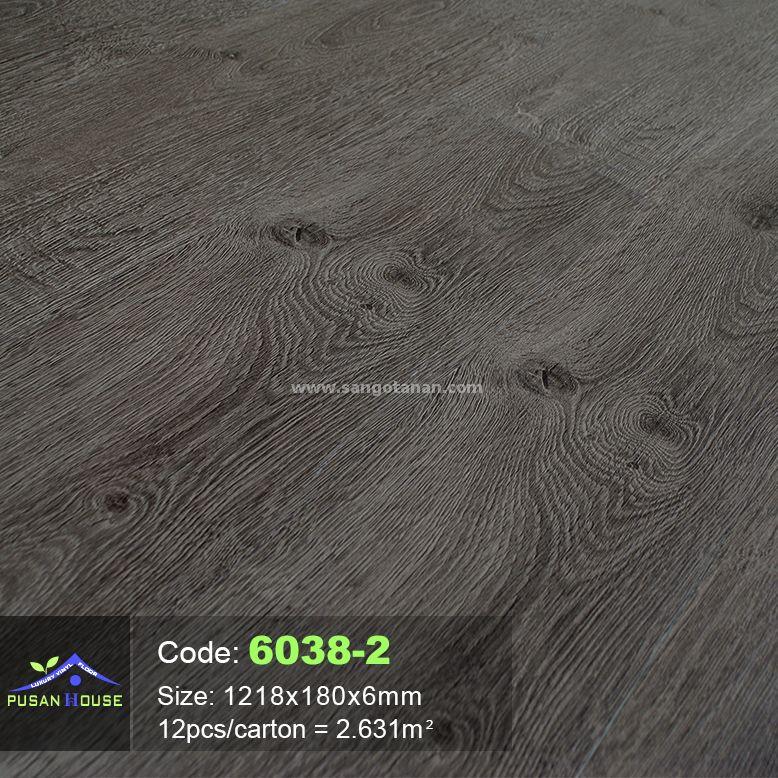 Sàn nhựa hèm khóa Pusan House 6038-2