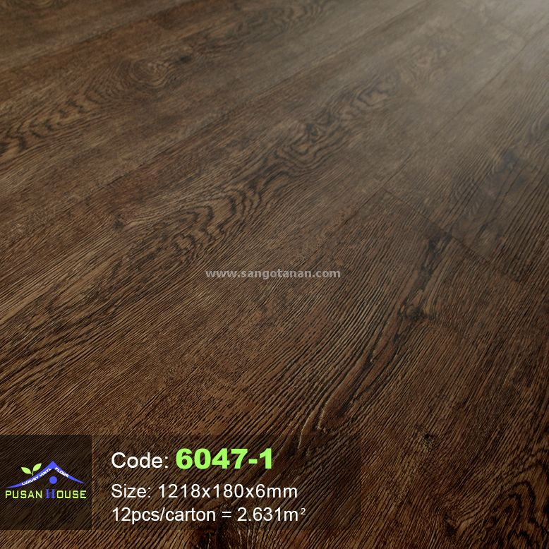 Sàn nhựa hèm khóa Pusan House 6047-1