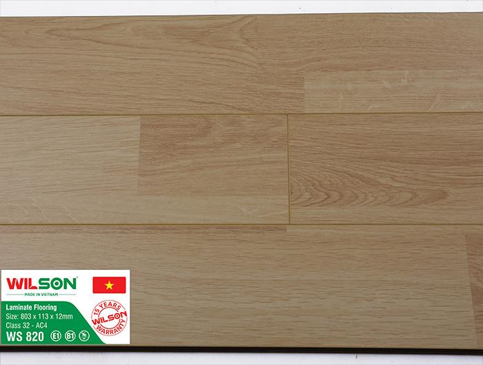Sàn gỗ công nghiệp Wilson WS 820