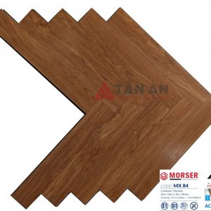 Sàn gỗ công nghiệp hèm khóa xương cá 8mm Moser MX84
