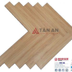 Sàn gỗ công nghiệp hèm khóa xương cá 8mm Moser MX86