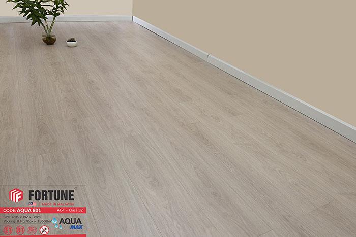 Sàn gỗ công nghiệp Fortune Aqua 801 2
