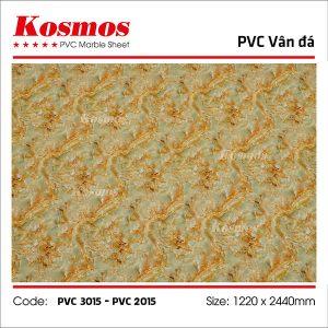 Tấm ốp vân đá Kosmos PVC 2015 hoặc PVC 3015